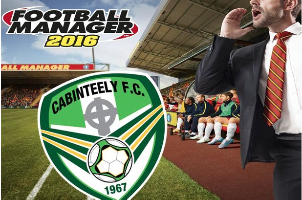 cabinteely fc football manager competition run by the link marketing